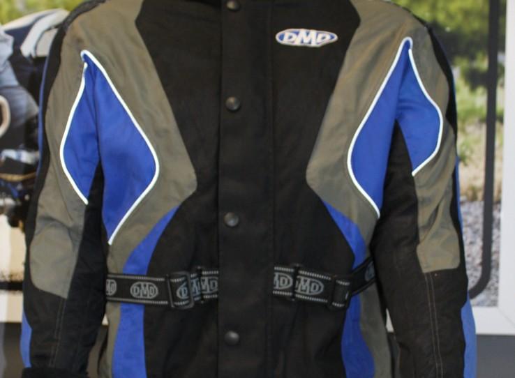 Black and blue DMD jacket