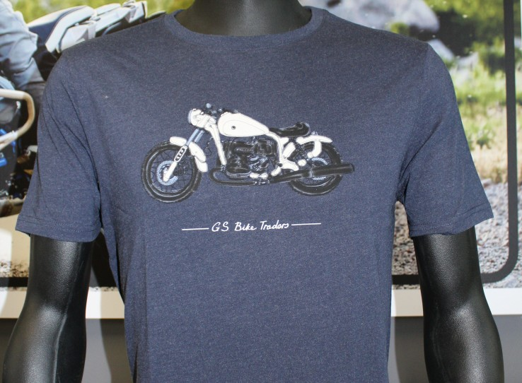 Vents Brull GS Bike Traders T-shirts.
