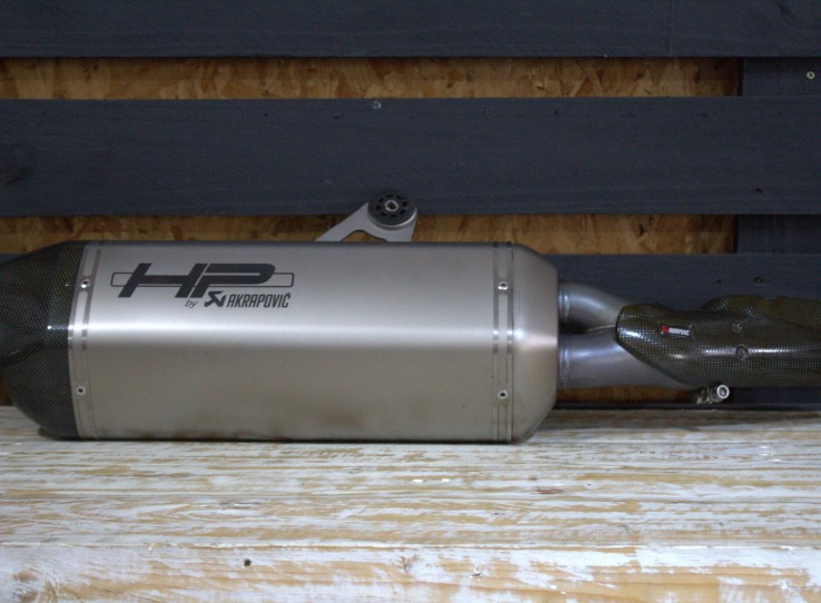 Akropovic exhaust