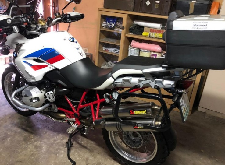 ARRIVING SOON --GS 1200 2012 Rally Limited Edition- Loaded with extras